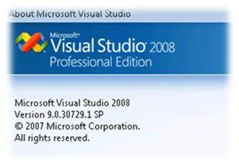 Visual Studio 2008 with SP1